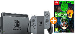 Switch Grau (neue Edition) + Luigis Mansion 3