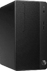 Desktop PC 290 G3 MT, i5-9500, 8GB RAM, 256GB SSD, Win10 Pro, DVD-Brenner, schwarz (8VR57EA)