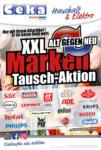 CEKA CENTRALKAUFHAUS HANS TÖBBENS KG XXL alt gegen neu Marken Tausch-Aktion - bis 20.06.2020