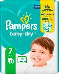 dm-drogerie markt Pampers Windeln Baby Dry, Größe 7 Extra Large, 15+kg, Einzelpack