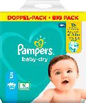 dm-drogerie markt Pampers Windeln Baby Dry, Größe 5 Junior, 11-16kg, Doppelpack
