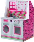Möbelix Puppenhaus & Spielküche Plum 2-In-1