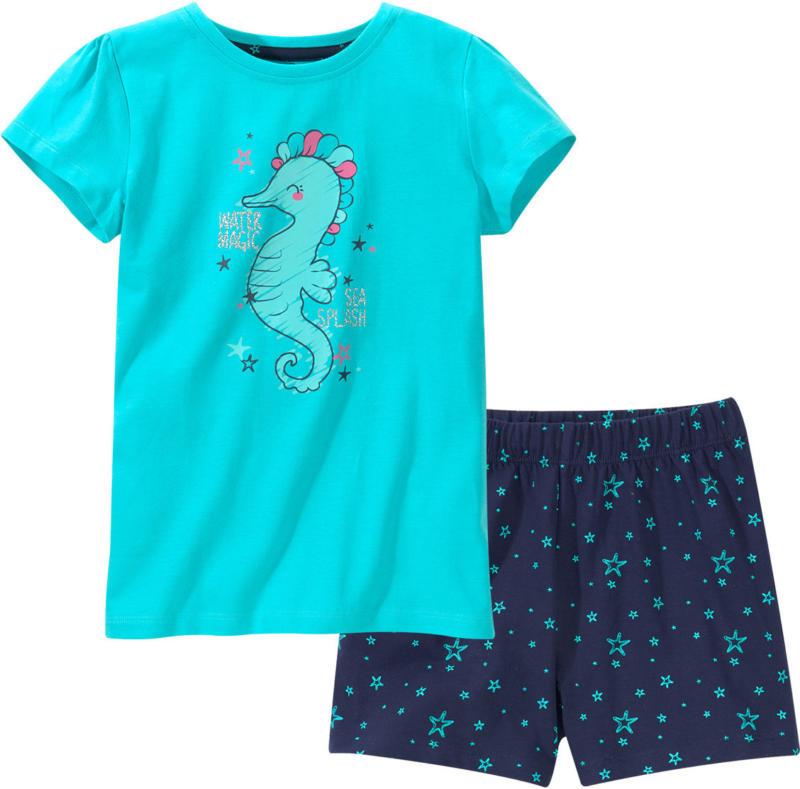 Mädchen Shorty mit Seepferdchen-Motiv (Nur online)