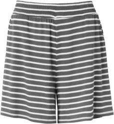 Damen Shorts im gestreiften Dessin