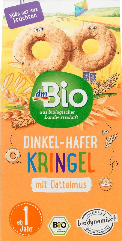 dmBio Dinkel-Hafer Kringel ab 1 Jahr, Demeter