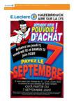 E. Leclerc DÉFENDENT VOTRE POUVOIR D'ACHAT ! - au 21.06.2020