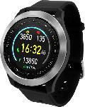MediaMarkt Smartwatch Q-90, schwarz
