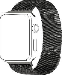 Armband für Apple Watch 42/44mm Mesh, Grau