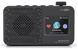 Tragbares Internet/DAB+/FM-Radio HPG336DAB/DIR mit eingebautem Akku