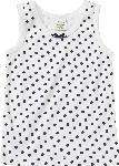 dm-drogerie markt ALANA Kinder Unterhemd, Gr. 104, in Bio-Baumwolle, weiß, blau