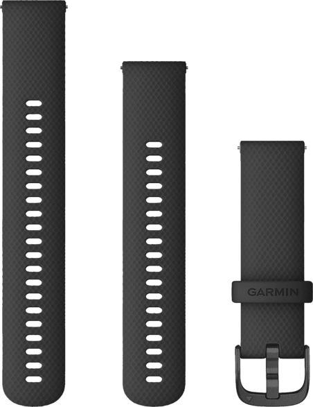 Schnellwechsel-Armband für Vívoactive® 4 22mm, schwarz/schiefergrau (010-12932-21)