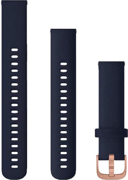 Schnellwechsel-Armband für vivoactive 4s 18mm, blau/rosegold (010-12924-33)