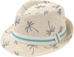 Jungen Hut mit Palmen-Motiv