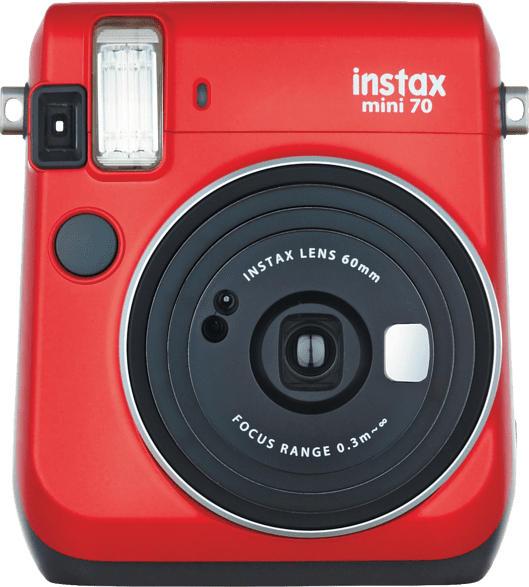 Sofortbildkamera Instax Mini 70, rot