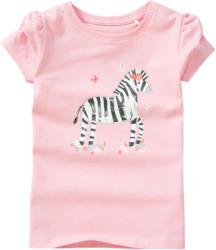 Mädchen T-Shirt mit Zebra-Motiv