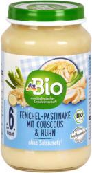 dmBio Menü Fenchel-Pastinake mit Couscous & Huhn