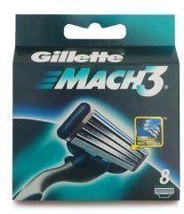 Gillette Rasierklingen Mach 3  8er -