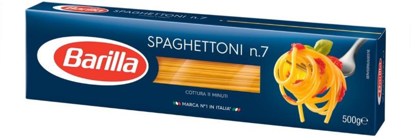 Barilla spaghettoni n. 7 500 g -