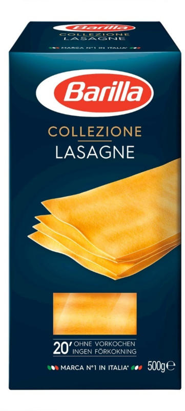 Barilla la collezione lasagne giallo 500g -