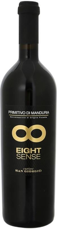 Eight Sense Primitivo di Manduria DOP - 6 Stück