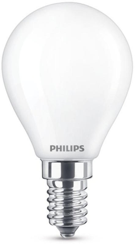Philips LED boule 5.5/40W E14 mat -
