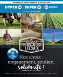 Hyper U SOUTIEN AUX PRODUCTEURS LOCAUX NOS CHOIX : ENGAGEMENT, SOUTIEN, SOLIDARITÉ ! U DE PARIS - au 04.07.2020