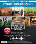 Hyper U SOUTIEN AUX PRODUCTEURS LOCAUX NOS CHOIX : ENGAGEMENT, SOUTIEN, SOLIDARITÉ ! U DES HAUTS DE FRANCE - au 04.07.2020