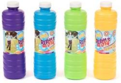 Nachfüllung für Seifenblasen 1 Liter verschiedene Farben