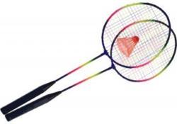 Badminton-Set 3 Teile bunt
