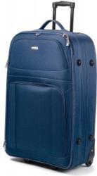 Softcase-Trolley Kreta 55 cm mit 2 Rollen blau