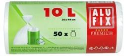 ALUFIX Müllsäcke 10 Liter 50 Stück transparent