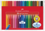 Pagro FABER-CASTELL Fasermaler GRIP Colour 20 Stück mehrere Farben