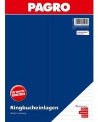 PAGRO Ringbucheinlagen A4 200 Blatt liniert