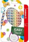 Pagro STABILO Buntstifte Easy Colors für Linkshänder 12 Stück