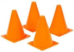 Markierungshütchen 4 Stück orange