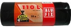 ALUFIX Müllsäcke extrastark 10 Stück 110 Liter schwarz