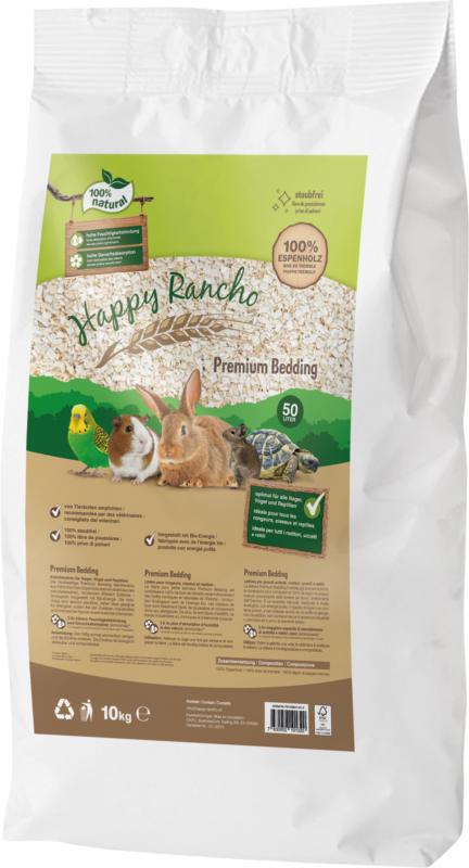 Happy Rancho Kleintierstreu Premium Bedding 50l / 10kg