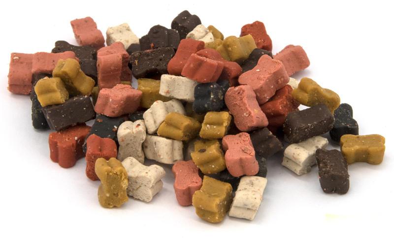 QUALIDOG Friandises pour chien Semi-Moist Mini Mix d'os 150g