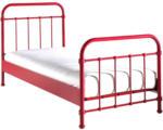 Möbelix Kinder-/Juniorbett New York 90x200 cm Rot