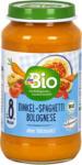 dm dmBio Babymenü Dinkel-Spaghetti Bolognese