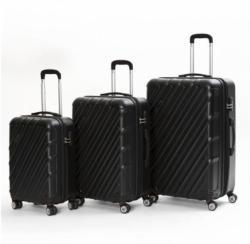 Reisekofferset Ibiza aus Kunststoff, 3er Set