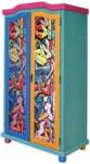 Möbelix Schrank Genffiti B: 103 cm Multicolor
