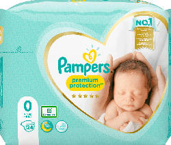 Pampers Windeln Premium Protection, Größe 0, New Baby Micro
