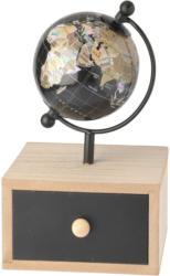 Mini-Globus mit Schubkästchen