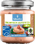 dm-drogerie markt followfish Aufstrich, Creme, Thunfisch Aufstrich Olive