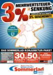 Möbelstadt Sommerlad 3% Mehrwertsteuersenkung - bis 11.07.2020