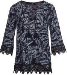 Damen Shirt mit Makramee-Spitze (Nur online)