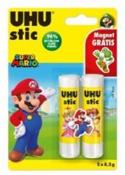 UHU Stic Super Mario 2 x 8,2g inkl. Magnet