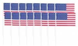 Partypicker USA 144 Stück aus Holz