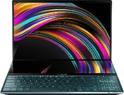 Gaming Notebook ZenBook Pro Duo mit ScreenPad Plus Zweitdisplay, I7-9750H, 16GB/512GB, 4K OLED, Blau